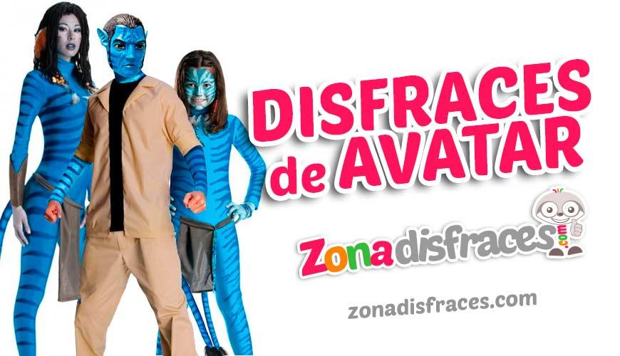 Disfraces Grupales de Avatar